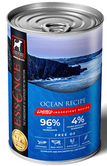 Essence LIR Ocean Recipe Wet Dog Food, 13-oz, case of 12