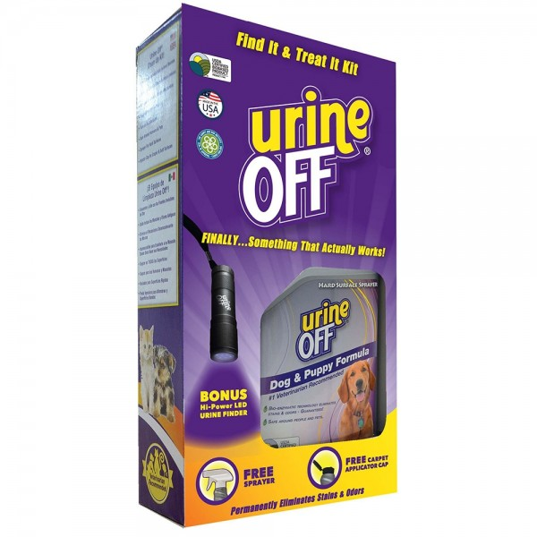 Urine Off Find it Treat it Urine Finder and Cleaning Kit, Dog & Puppy Formula