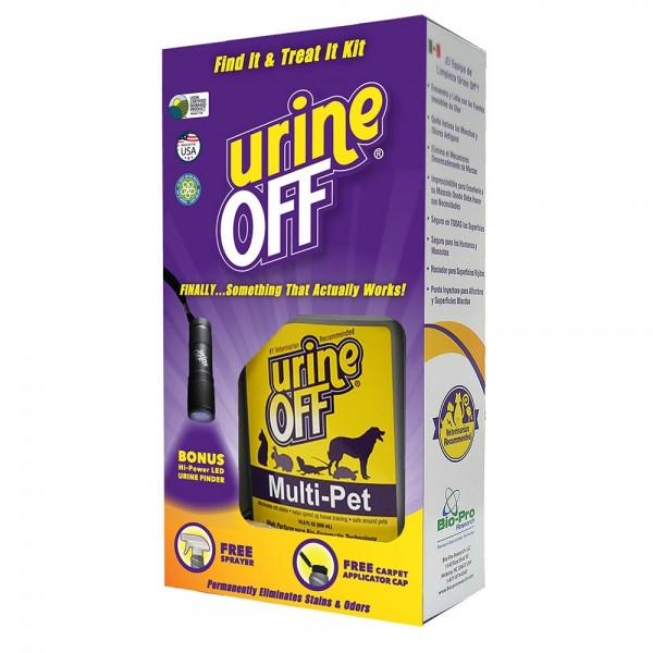Urine Off Find it Treat it Urine Finder and Cleaning Kit, Multi-Pet