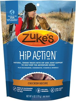 Zuke's Hip Action Chicken Recipe Dog Treats