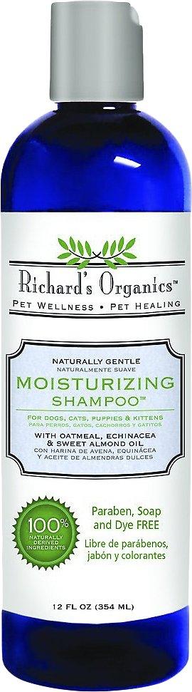 Richard's Organics Moisturizing Shampoo, 12-oz bottle