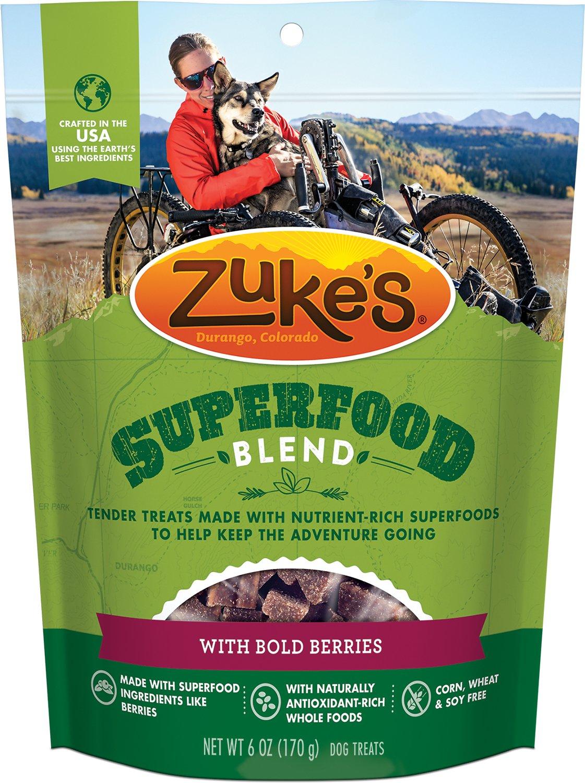 Zuke's SuperFood Blend with Bold Berries Dog Treats, 6-oz bag
