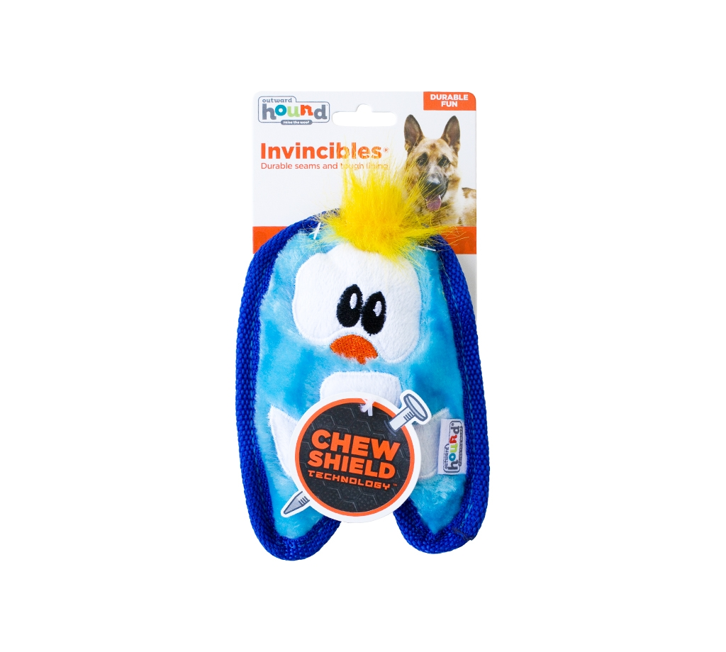 Outward Hound Invincibles Minis Penguin Dog Toy