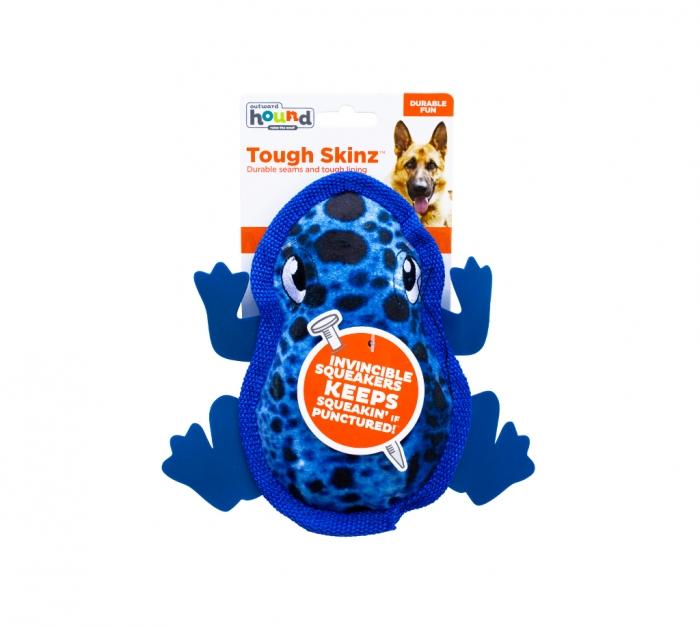 Outward Hound Tough Skinz Invincibles Squeaker Dog Toy