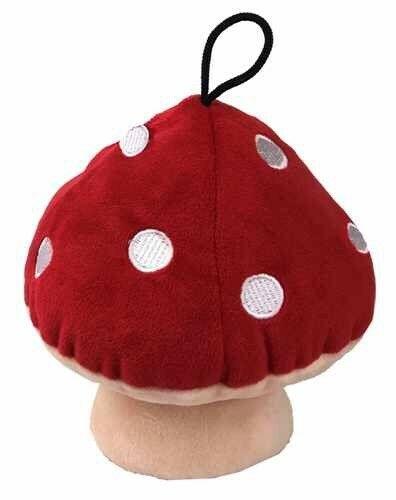 Petlou Mushroom Dog Toy, 6-in