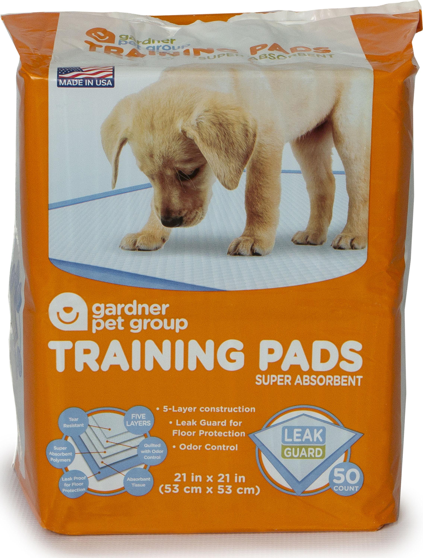 Gardner Pet Group Dog Training Pads, 50-count