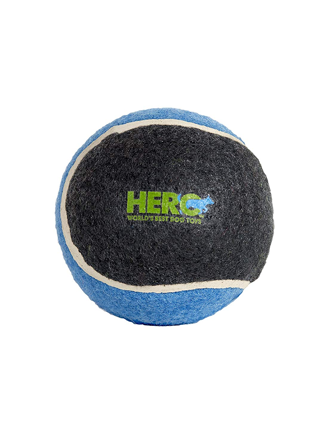 Hero Signature Series Natural Rubber Tennis Ball Dog Toy, Large