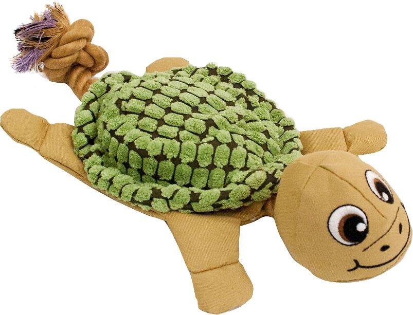 Hyper Pet New Cozy Krinkle Turtle Dog Toy