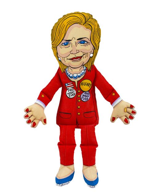 Fuzzu Hillary Clinton Dog Toy, Large