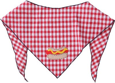 Tail Trends Hot Dog & Cat Dog & Cat Bandana