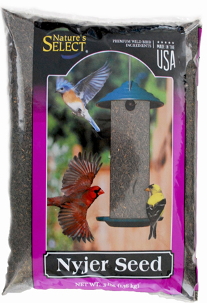 Nature's Select Nyjer Thistle Seed Wild Bird Food, 3-lb