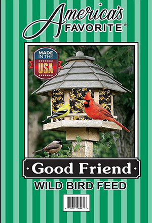 America's Favorite Good Friend Wild Bird Food, 10-lb
