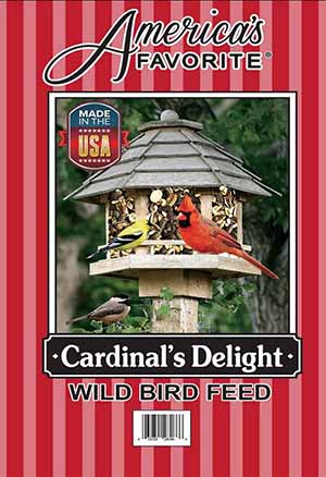 America's Favorite Cardinal Delight Wild Bird Food, 30-lb