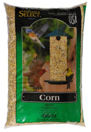 Nature's Select Medium Cracked Corn Wild Bird Food, 10-lb