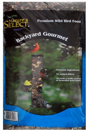 Nature's Select Backyard Gourmet Wild Bird Food, 7-lb
