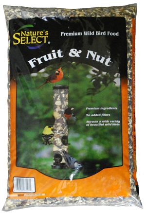 Nature's Select Fruit & Nut Wild Bird Food, 8-lb