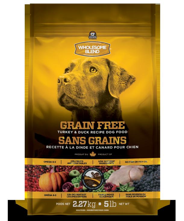 Wholesome Blend Turkey & Duck Recipe Grain Free Dry Dog Food, 25-lb