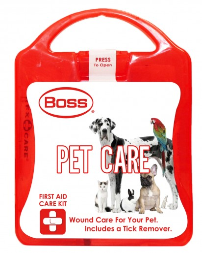 Boss First Aid Pet Care Kit, Small
