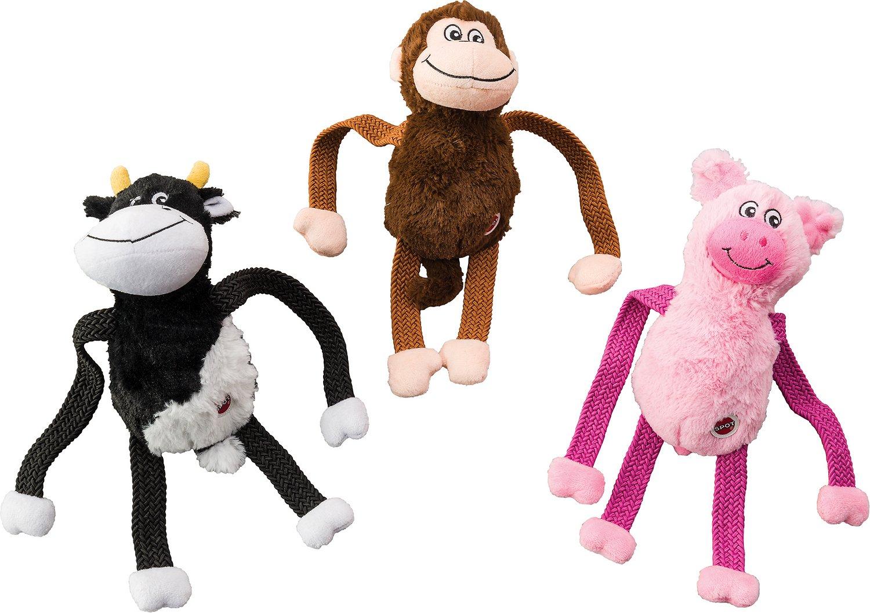 Ethical Pet Stretcheeez Plush Dog Toys