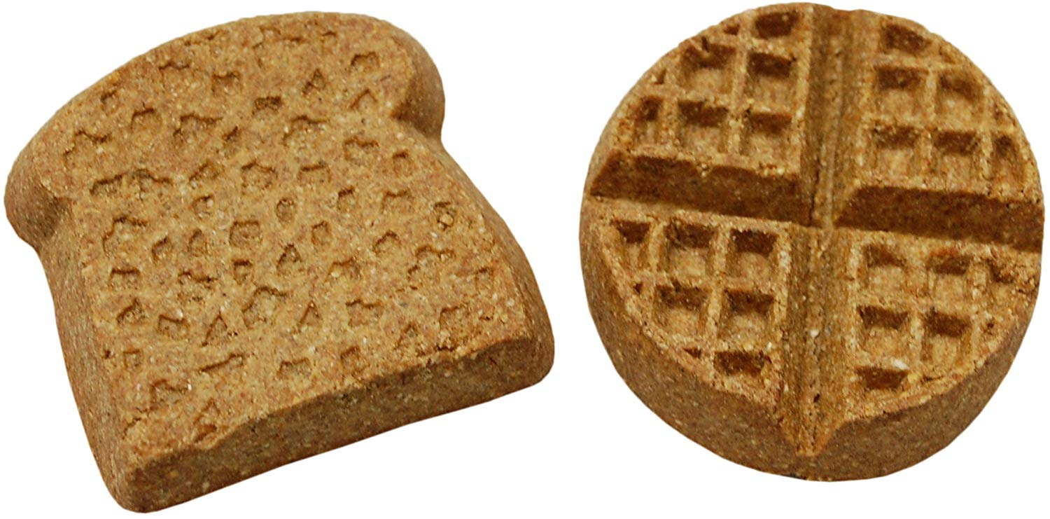 Wet Noses Howlin' Goodies Waffles & Toast Blueberry Flavored Dog Treats, 10-lb