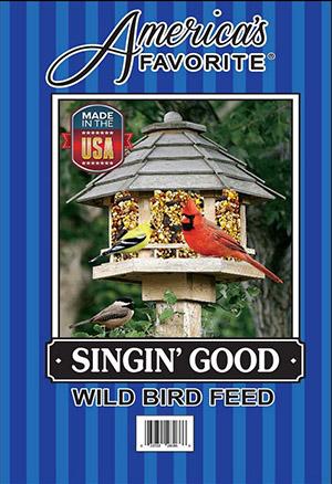 America's Favortie Singin' Good Wild Bird Feed, 20-lb