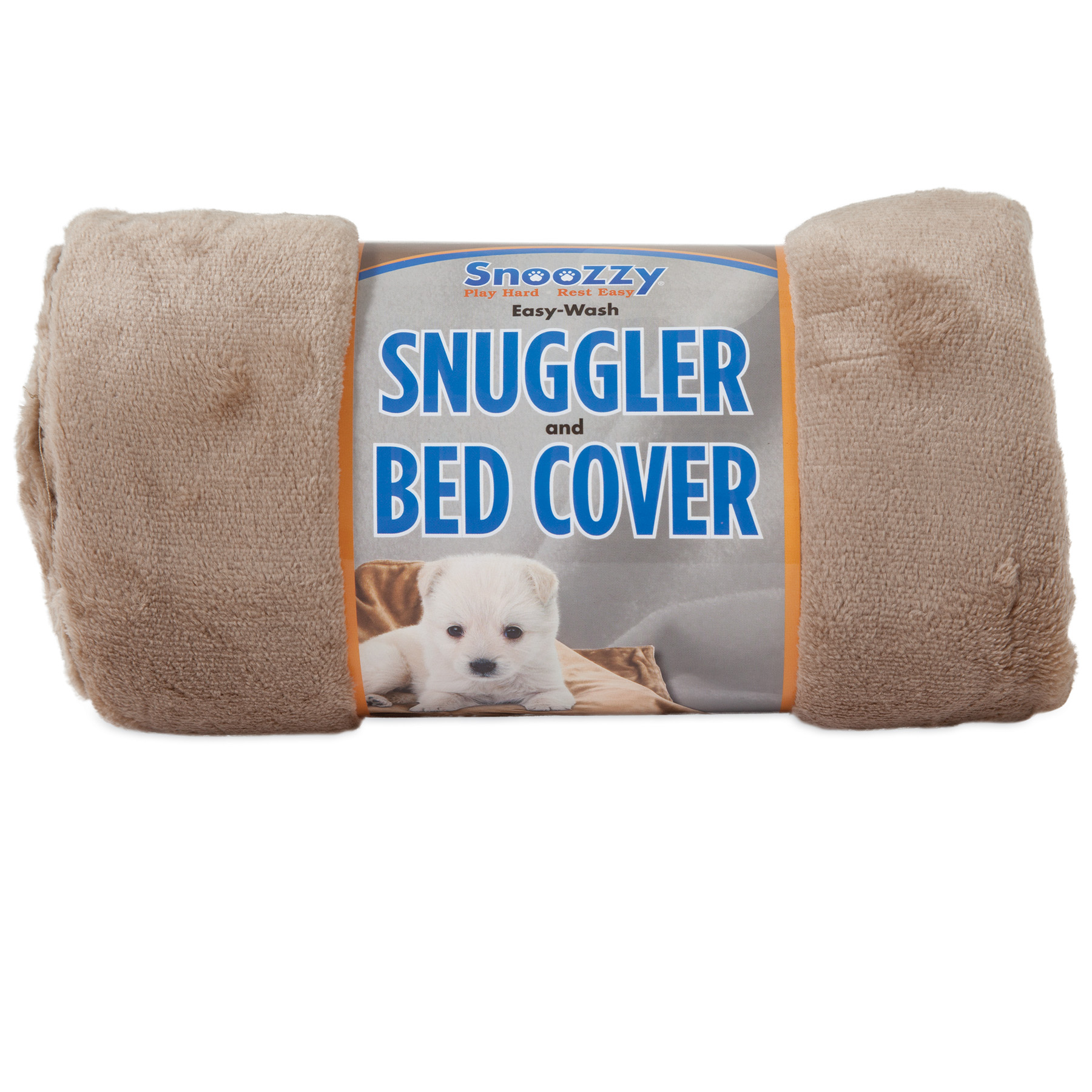 Precision Pet SnooZZy Snuggler Dog Bed Cover, Tan