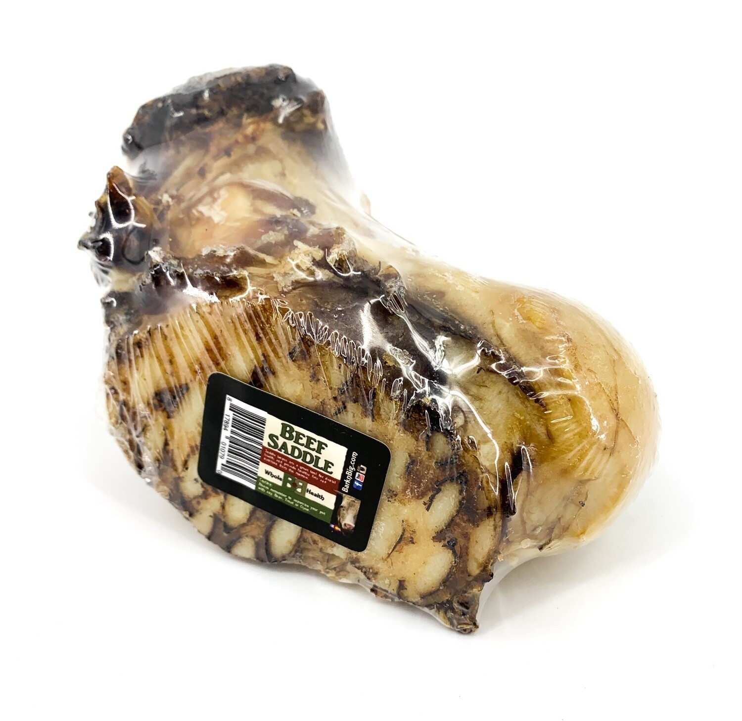 BarknBig Beef Saddle Bone Dog Treats