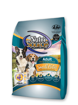 Nutrisource Small Bites Adult Dry Dog Food, 15-lb