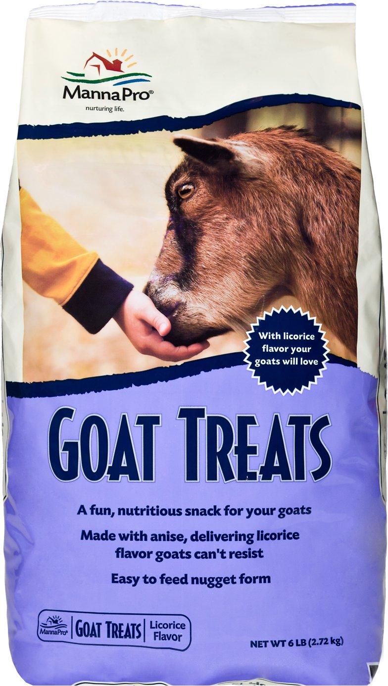 Manna Pro Licorice Flavor Goat Treats, 6-lb
