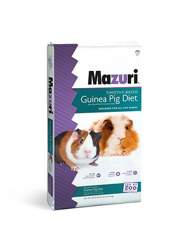 Mazuri Timothy-Based Guinea Pig Food, 25-lb