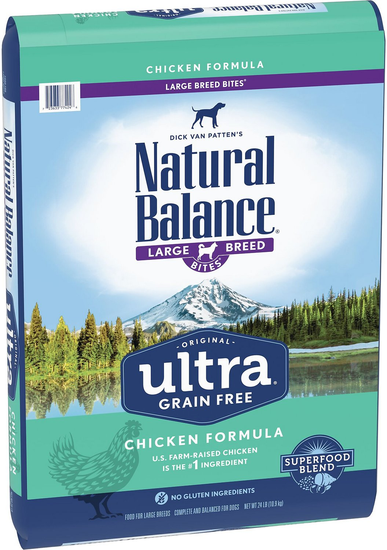 Natural Balance Original Ultra Chicken Formula Grain-Free Large Breed Dry Dog Food, 24-lb