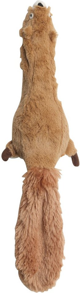 Ethical Pet Skinneeez Jumbo Squirrel Stuffingless Dog Toy