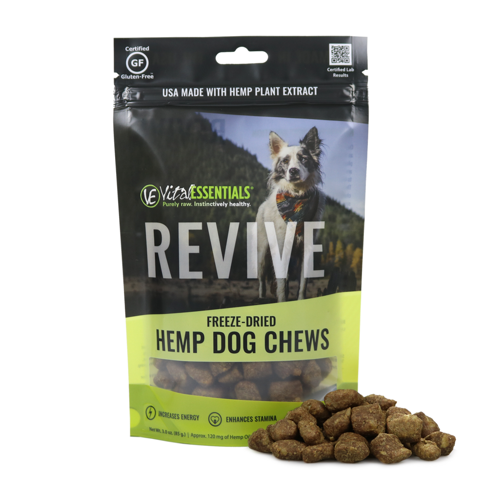 Vital Essentials REVIVE Custom Spectrum Chew for Dogs, 3-oz