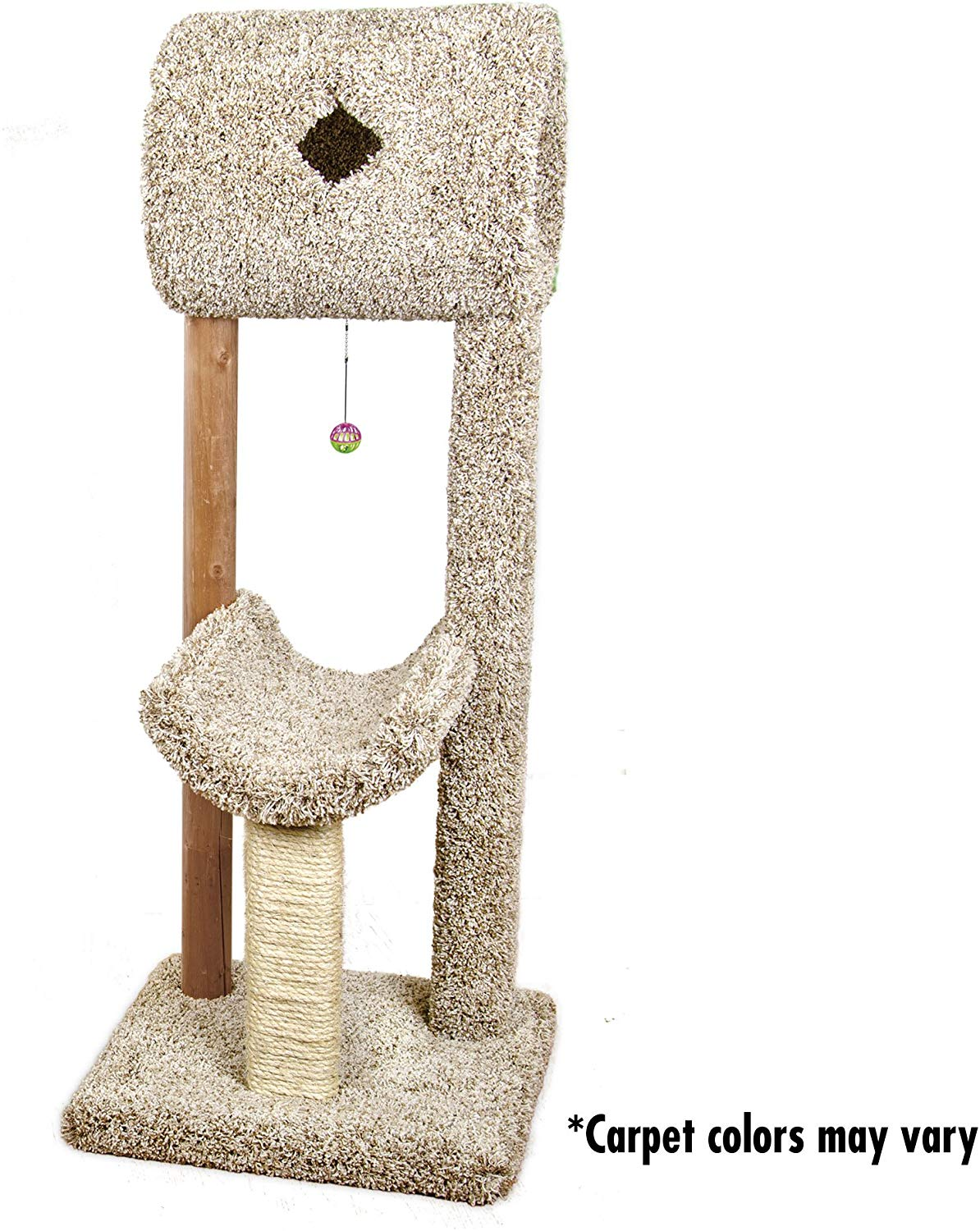 Ware Kitty Cave & Cradle Cat Post