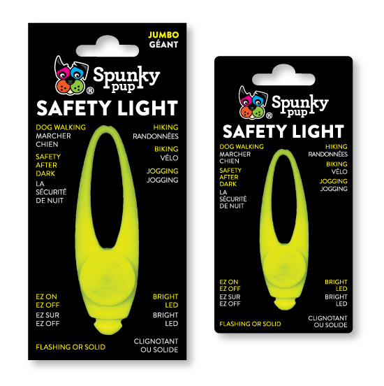Spunky Pup Safety Light for Dogs, Jumbo
