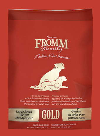 Fromm Gold Weight Management Large Breed Dry Dog Food, 33-lb