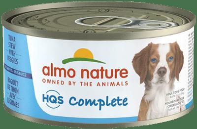 Almo Nature HQS Complete Tuna Stew Veggies Canned Dog Food, 5.5-oz