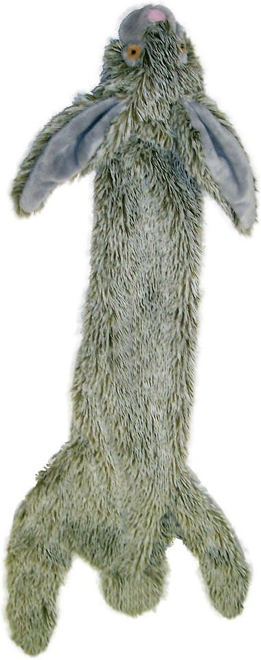 Ethical Pet Skinneeez Forest Series Rabbit Stuffingless Dog Toy