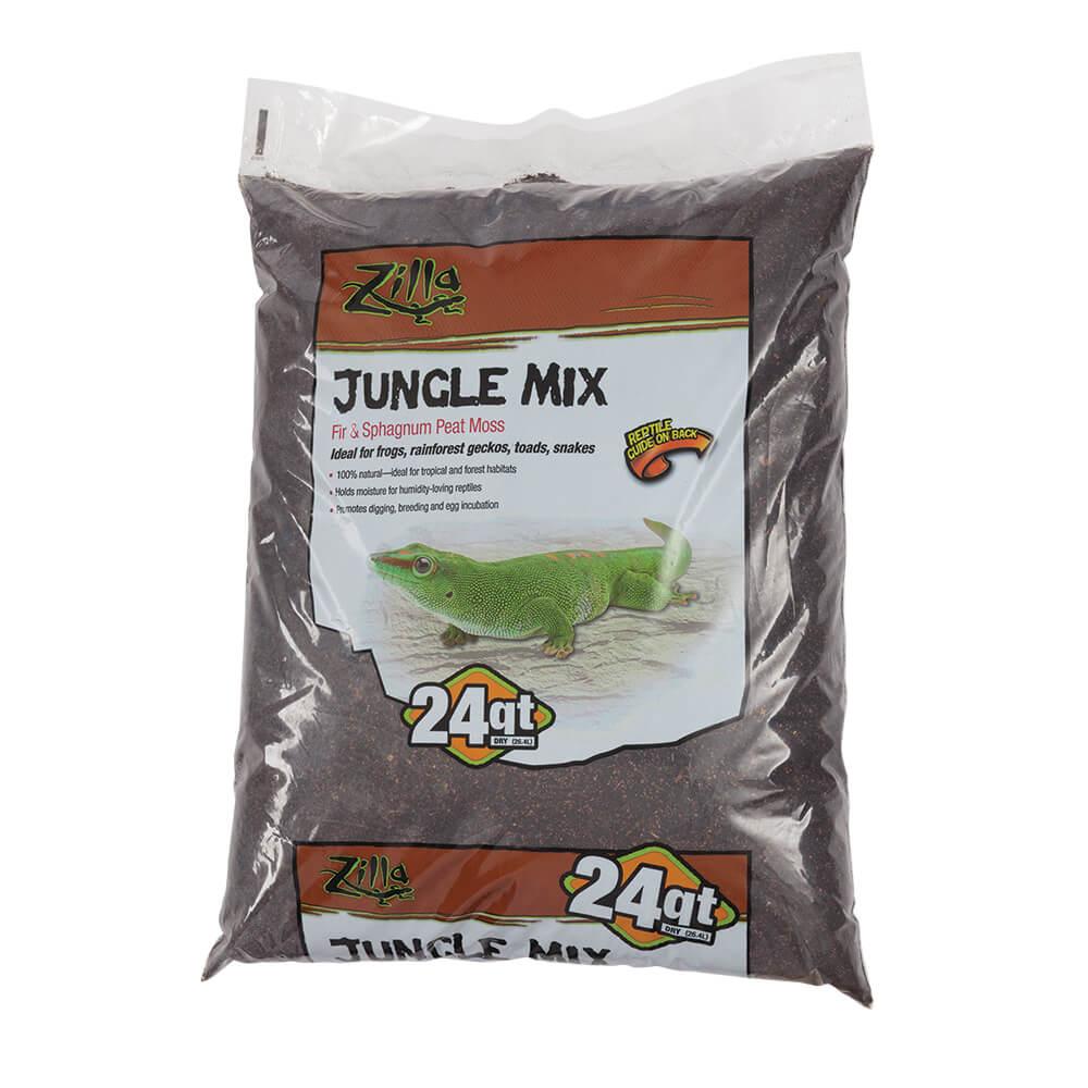 Zilla Jungle Mix Reptile Bedding, 24-qt