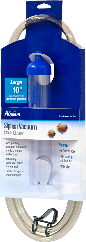 Aqueon Siphon Vacuum Aquarium Gravel Cleaner, Large, 12-in