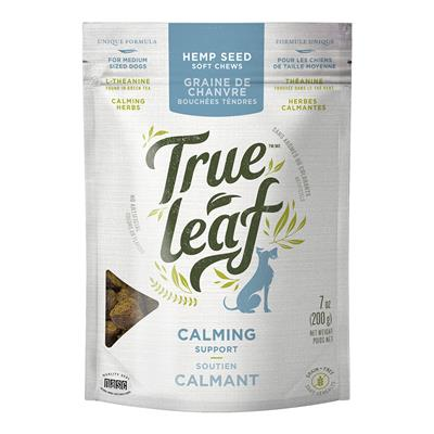 True Leaf Calming Support Chews for Medium Dogs,7-oz