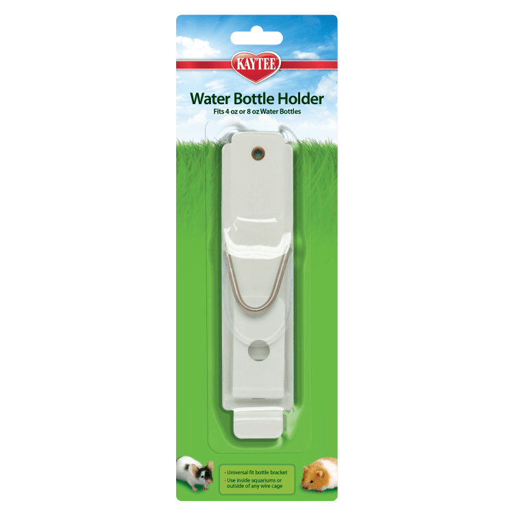 Kaytee Small Animal Water Bottle Holder, 4-oz/8-oz