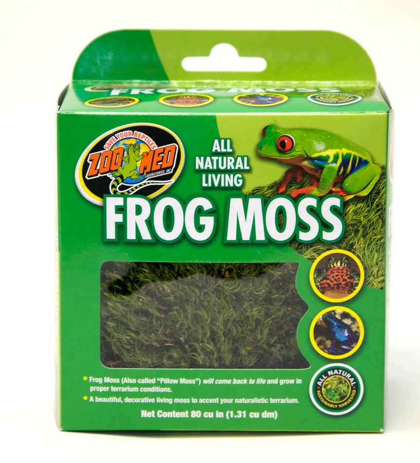 Zoo Med Natural Frog Moss for Reptiles