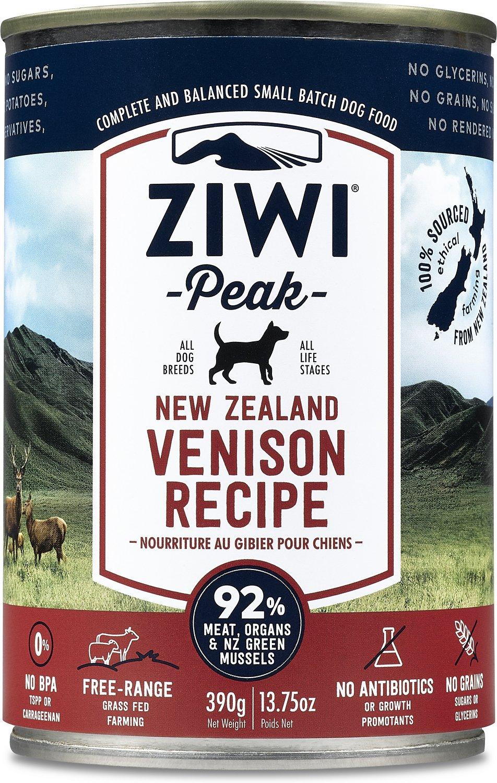 Ziwi Dog Peak Venison Recipe Canned Dog Food, 13.75-oz