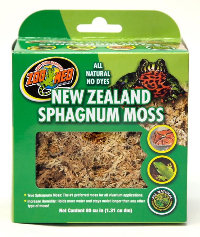 Zoo Med New Zealand Sphagnum Terrarium Moss, 80-cu in