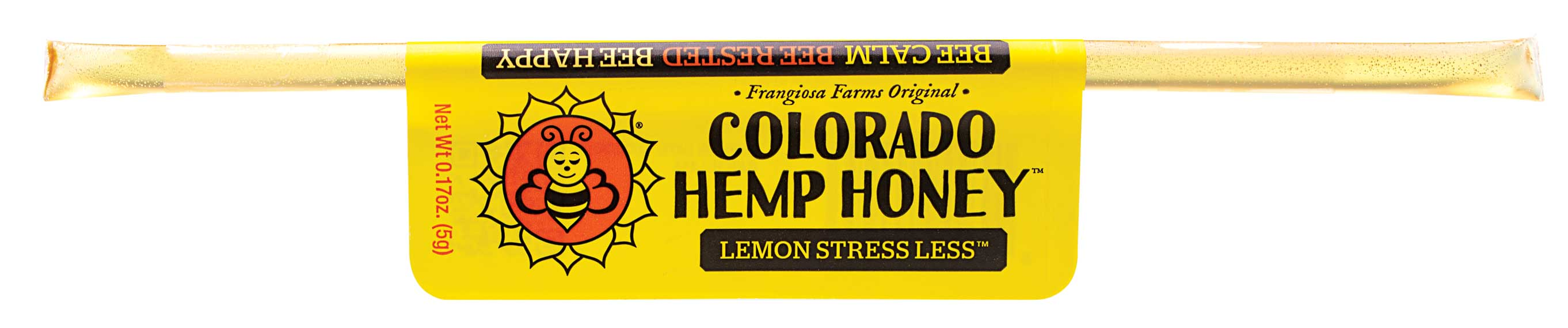 Colorado Honey Lemon Stress Less Full Spectrum Extract Sticks, 1-count (15-mg)