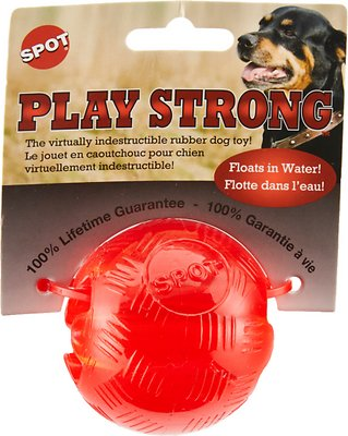 Ethical Pet Play Strong Rubber Ball Dog Toy