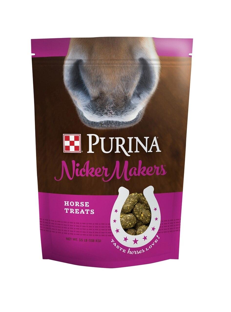 Purina Nicker Makers Horse Treats, 3.5-LB