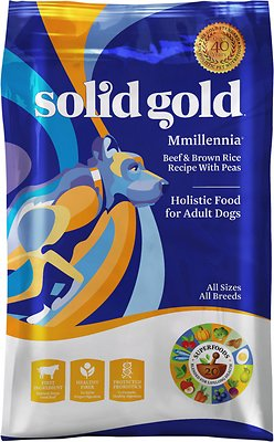 Solid Gold MMillennia Beef & Brown Rice Recipe with Peas Adult Dry Dog Food