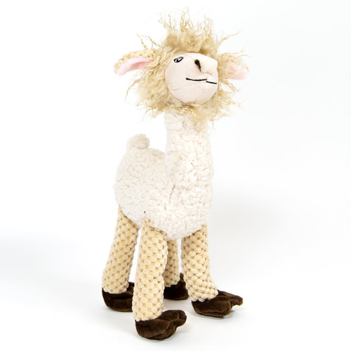 Fab Dog Floppy Llama Dog Toy, Large